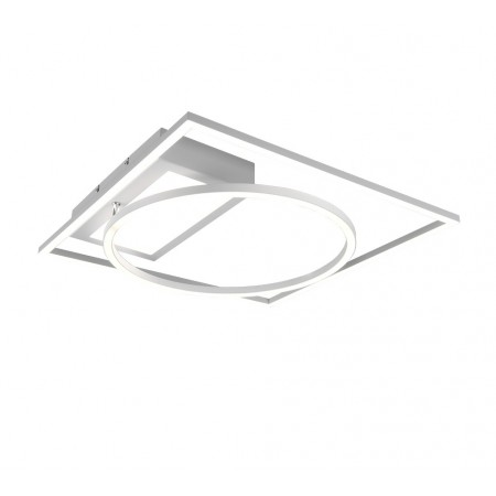 Plafón de Techo/Pared Led Trio Downey Blanco 33W CCT 4600lm