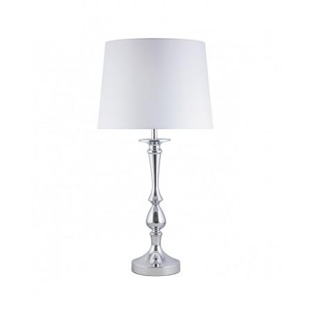 Lámpara de Sobremesa Tudor Cromo E27