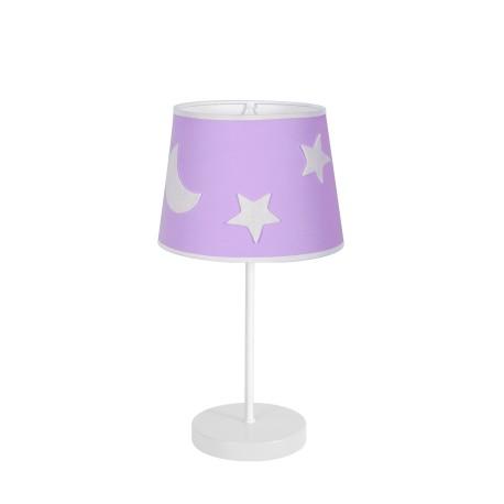 Lámpara de Sobremesa Infantil Firmamento Lila E27