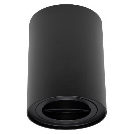 Foco Halógeno GU-10 Superficie Alverlamp Negro Redondo 9.6cm
