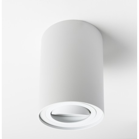 Foco Halógeno GU-10 Superficie Alverlamp Blanco Redondo 9.6cm