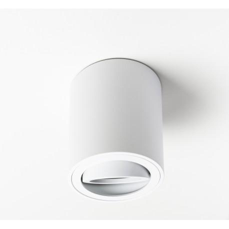 Foco Halógeno GU-10 Superficie Alverlamp Blanco Redondo 8cm