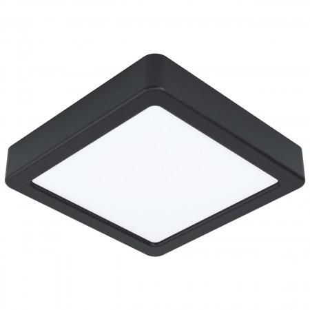 Downlight Superficie LED Eglo Fueva 5 Negro Luz Neutra 10.5W