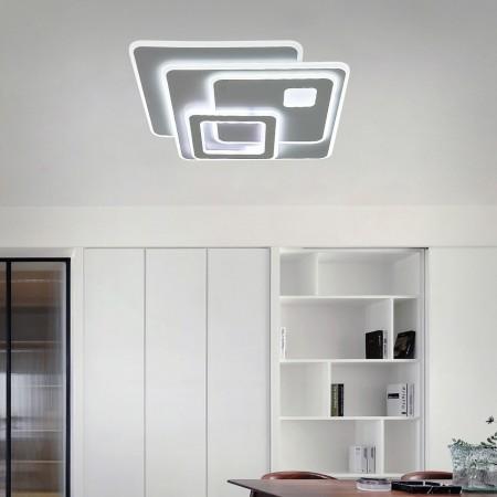 Plafón de Techo Kelektron Retro LED Integrado Blanco 90W