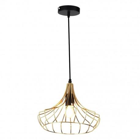 Lámpara Colgante Tegaluxe Industrial 30cm Oro