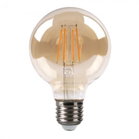 Bombilla LED Vintage Globo con Filamento 8W E27 80mm