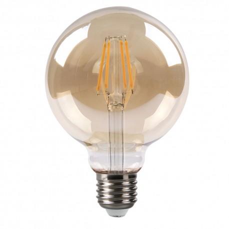 Bombilla LED Vintage Globo con Filamento 8W E27 95mm