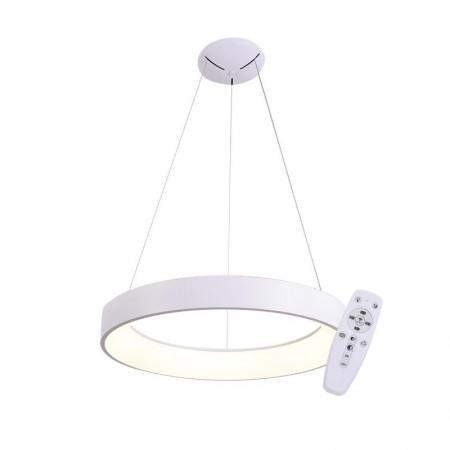 Elegant Colgante Redondo Blanco 60cmLed con mando iluminación inteligente circadiana