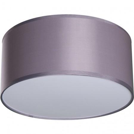 Lámpara Plafon Nicole 30 Cromo pantalla Gris