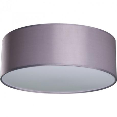 Lámpara Plafón Nicole 40 Cromo pantalla Gris