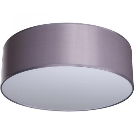 Lámpara Plafón Nicole 50 Cromo pantalla Gris