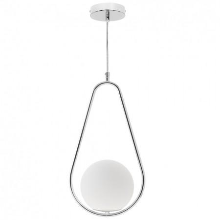 Lámpara Colgante Fabrilamp Aimee Pera Cromo 1xE27