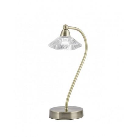 Lámpara de Sobremesa Chic Cuero 1xG-9