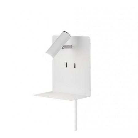 Aplique de Pared Trio Element LED-USB Blanco