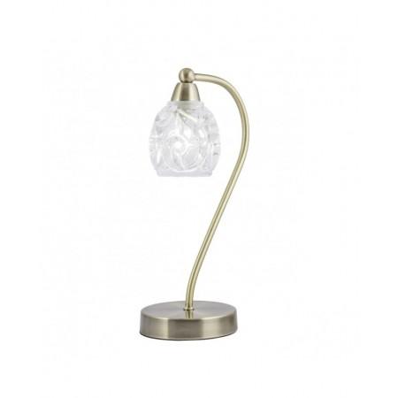 Lámpara de Sobremesa Garbo Cuero