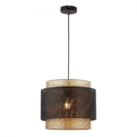 Lámpara Colgante Fabrilamp KYOTO Negro Oro