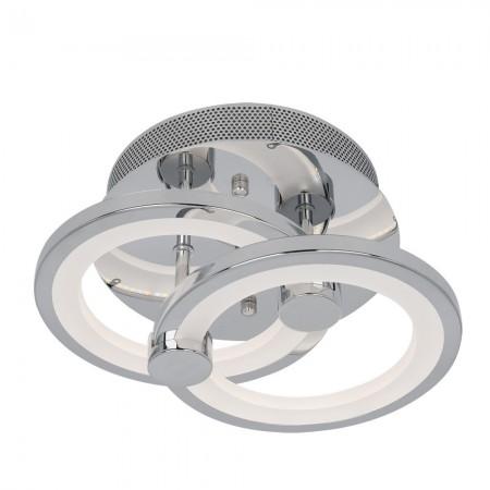 PLAFON SYDNEY LED 40W 3000-4000-6500K CROMO
