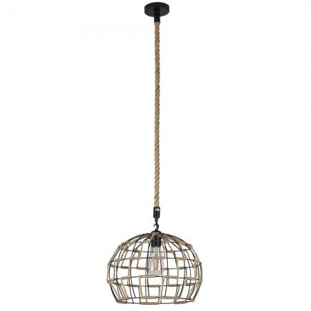 Lámpara Colgante Fabrilamp Soga Cuerda Boho REGx35D