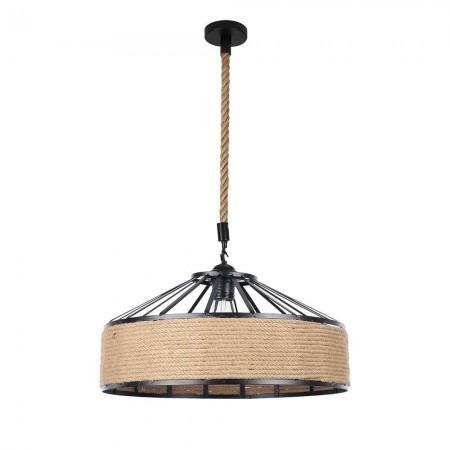 Lámpara Colgante Fabrilamp Soga Cuerda Boho Cáñamo REGx50D