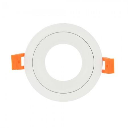 Halógeno empotrable LED Fabrilamp Anou redondo Blanco GU-10