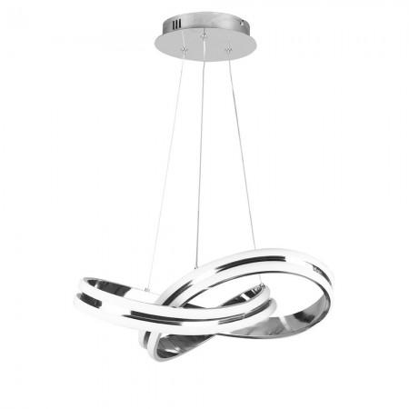 Lámpara Colgante LED Fabrilamp Nudo Cromo 56W 4480lm REGx50D