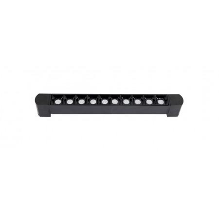 Foco Lineal Riel Monofásico Giratorio LED Zahora Negro 20W