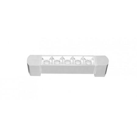 Foco Lineal Riel Monofásico Giratorio LED Zahora Blanco 10W