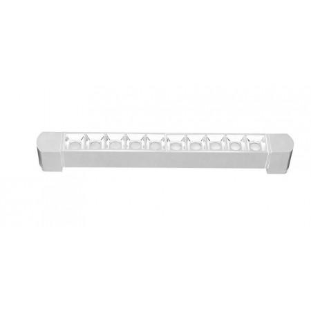 Foco Lineal Riel Monofásico Giratorio LED Zahora Blanco 20W