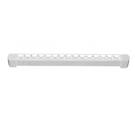 Foco Lineal Riel Monofásico Giratorio LED Zahora Blanco 30W