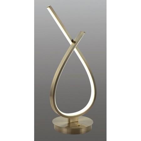 Lámpara de Sobremesa Zioneled Table Cuero12W Luz Neutra
