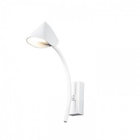 Aplique de Pared LED Mantra Capuccina 7W Blanco