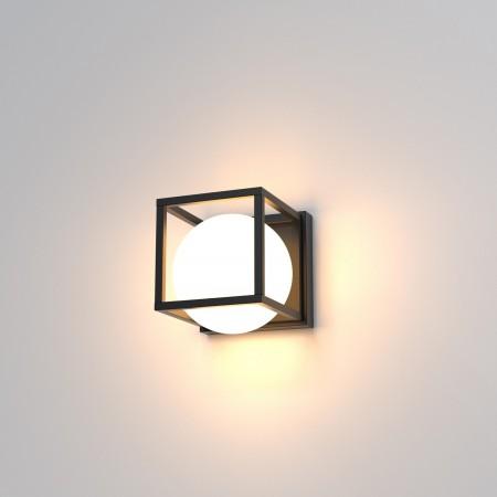 Aplique de Pared LED Mantra Desigual 1xE27 15cm Negro