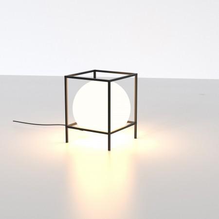 Lámpara Sobremesa Mantra Desigual Grande 1xE27 Negro