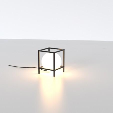 Lámpara Sobremesa Mantra Desigual Mediana 1xE27 Negro
