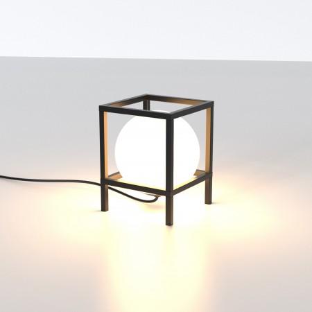 Lámpara Sobremesa Mantra Desigual Pequeña 1xE27 Negro