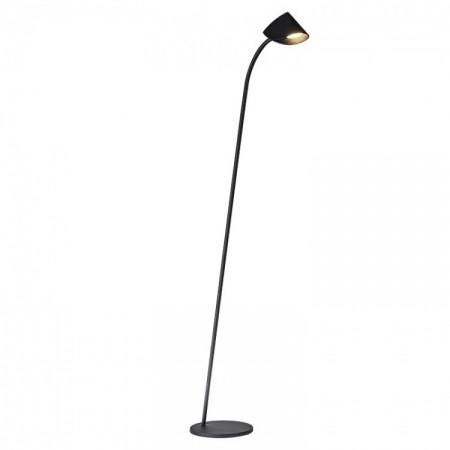 Lámpara de Pie LED Mantra Capuccina 7W Negro