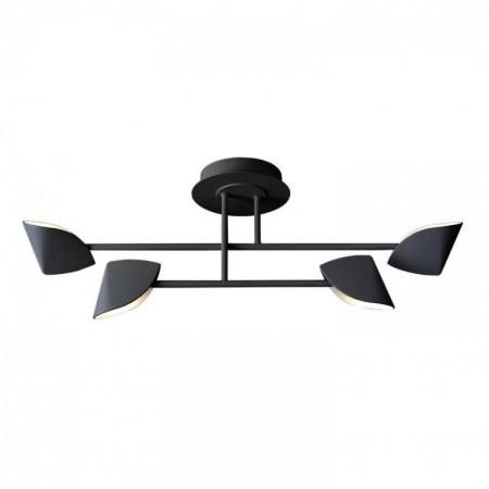 Plafón de Techo LED Mantra Capuccina Pequeño 28W Negro