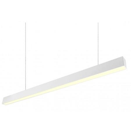 Plafón Lineal Colgante LED Tarifa Blanco 48W 120cm