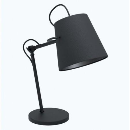 Lámpara de Sobremesa Eglo Granadillos 1xE27 Negro