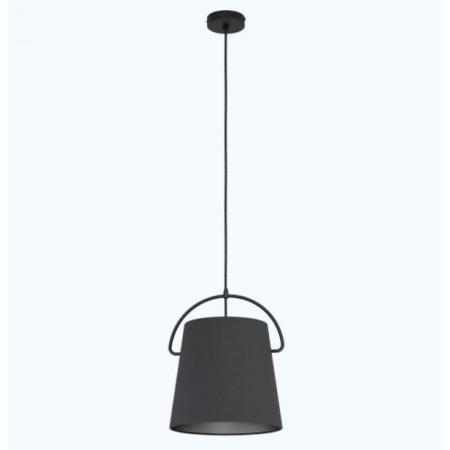 Lámpara Colgante Eglo Granadillos 1xE27 Negro