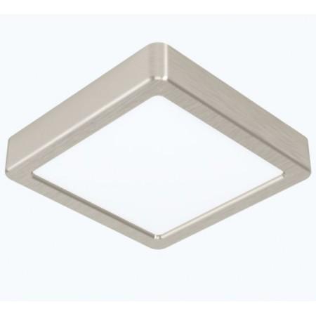 Downlight Superficie LED Eglo Fueva 5 Níquel Luz Neutra 16.5W