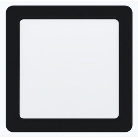 Downlight Empotrar LED Eglo Fueva 5 Negro Luz Neutra 11W