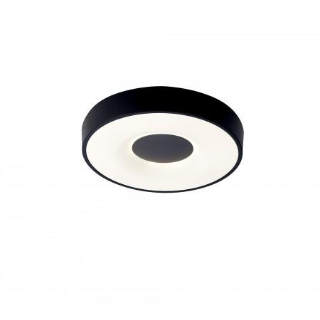 Plafón de Techo LED Mantra Coin 56W CCT Negro