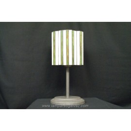 Lámpara de Sobremesa Tiffany Primavera Ovalada 42cm
