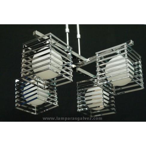 leuchte chrom excellent sebson flammig inkl x e led lampe w warmwei leuchte chrom with leuchte. Black Bedroom Furniture Sets. Home Design Ideas