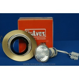 Empotrable halógeno LED bronce viejo