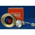 Foco Empotrable LED Halógeno GU10 Redondo Bronce Viejo y Cromo