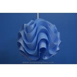 Colgante bola azul