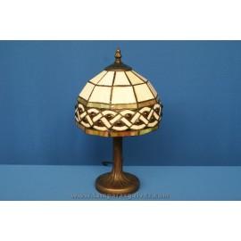 Lámpara de Sobremesa Tiffany Trenzado 34cm