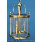Farol cilindro clasico bronce viejo